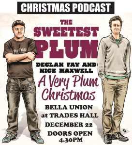 XMAS plum poster 1