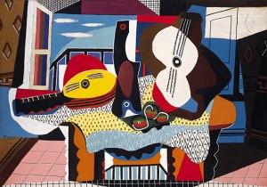 Piccasso Mandolin and Guitar-1