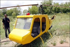 Nick is putting a bid on this Jalopycopter