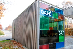 A natural shipping container