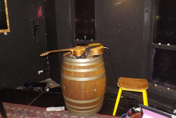 Gatesy's guitar