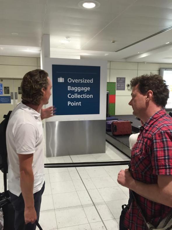 Nick Gatesy oversized baggage