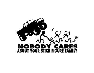 nobody cares about you stick family 2