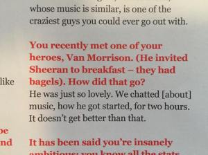 Van Ed Big issue