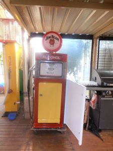Petrol bowser fridge