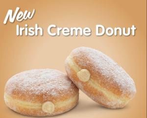 Irish donuts dunkin