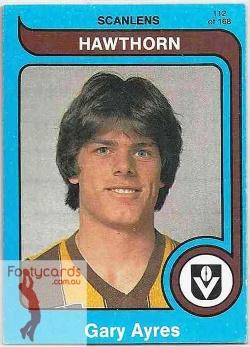 1980_VFL-AFL_Scanlens_112_Gary_Ayres_Hawthorn_Hawks